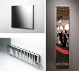 Heatinghub uk design heaters and towelrails water for Radiateur electrique design
